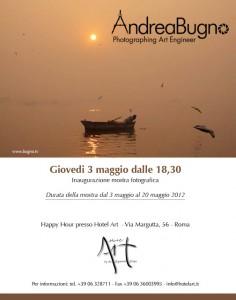 invito Hotel Art, Andrea Bugno
